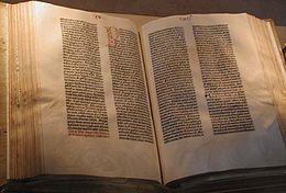 A Gutenberg Bible