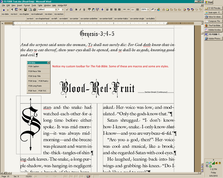 Book Design With Microsoft Word The Art Of Moriah Jovan