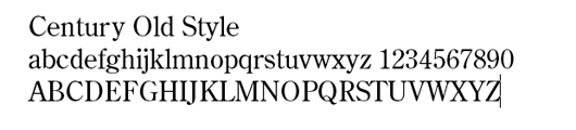 type fonts for self publishers