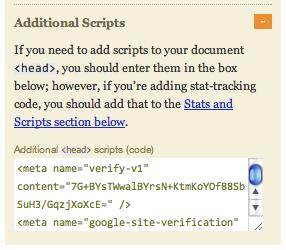 Thesis code input box