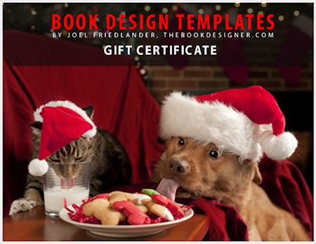 Book Design Templates Gift Certificates