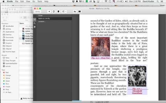 Kindle for mac page sample